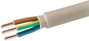 Какой кабель используется для электромонтажа в жилых и административных зданиях?